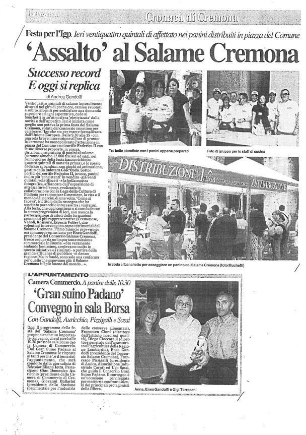 La Provincia di Cremona - 01 ottobre 2006