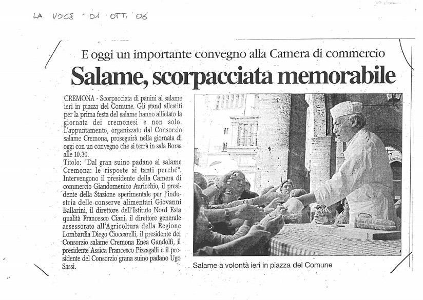 La Voce - 01 ottobre 2006